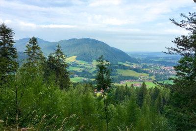 Blick vom Unternberg in Ruhpolding Bayern