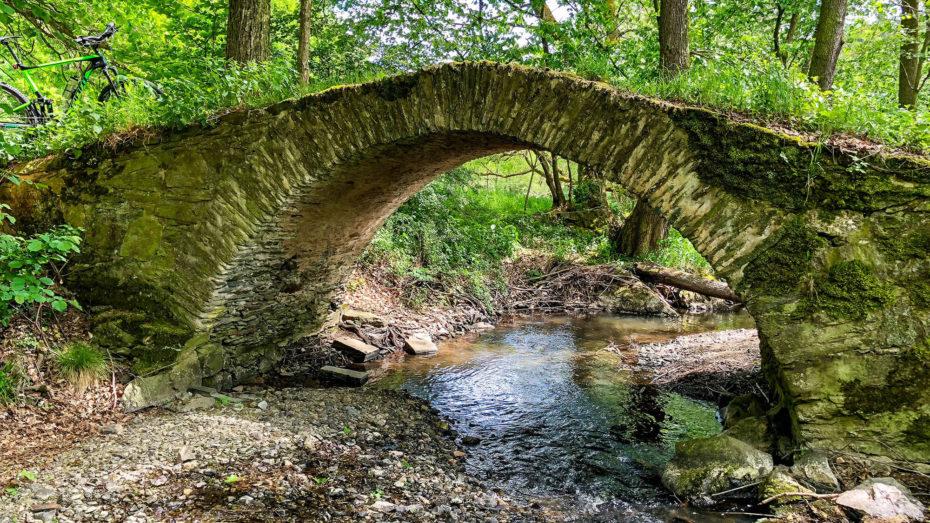 MTB-Tour - Route über die Schafbrücke