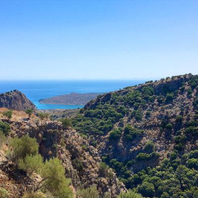 Outdoor-wandern auf Kreta im Umland von Plaka